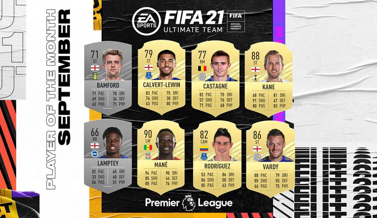 FIFA 21: Nominierte zum ersten Premier League-POTM in FUT