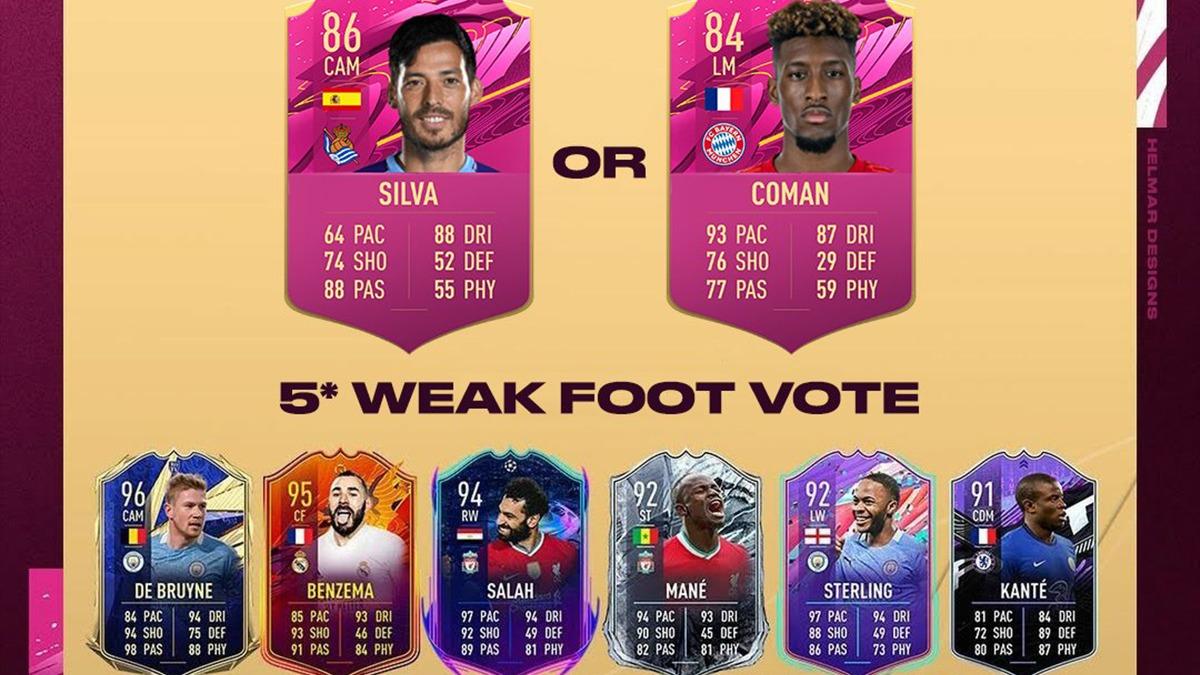FIFA 21: FUTTIES-Spielerwahl zwischen Coman und Silva