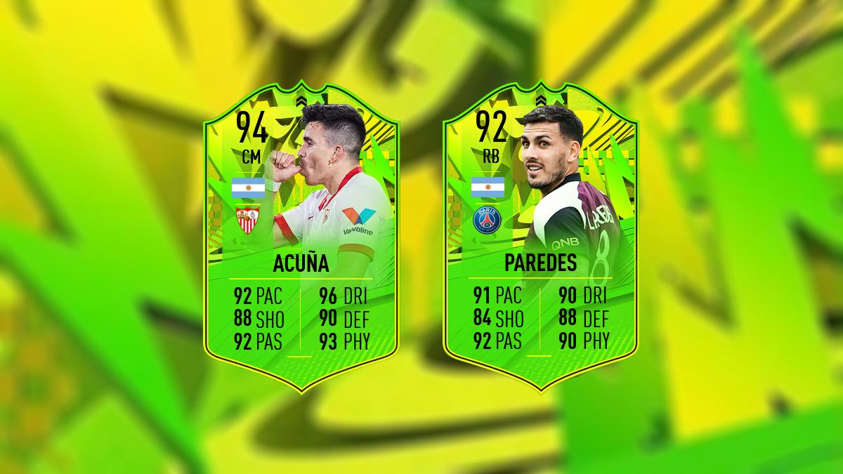 FIFA 21 FoF: PTG-Upgrades für Paredes und Acuña