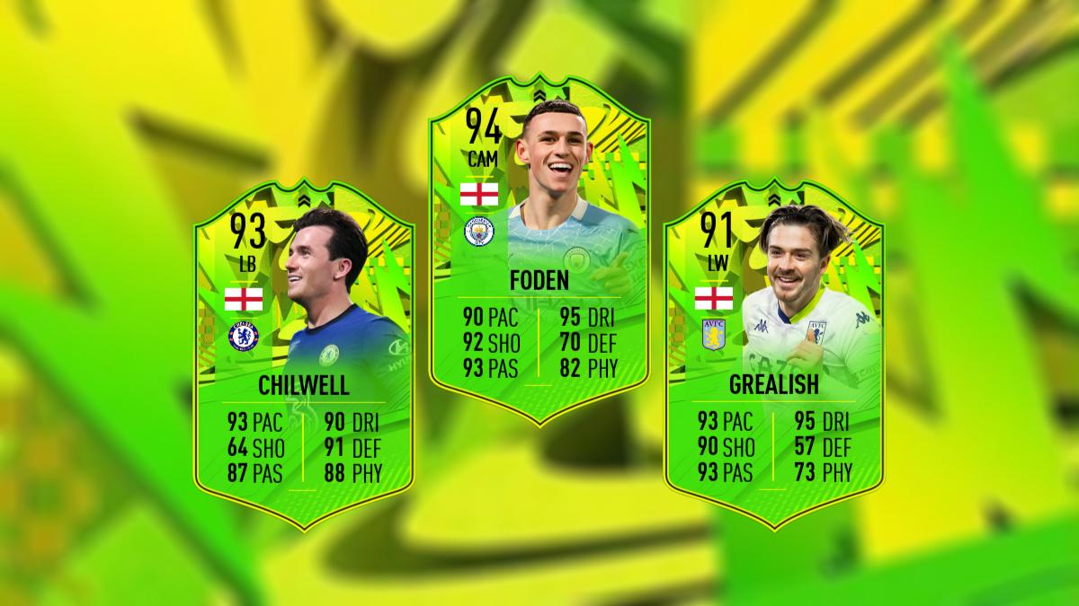 FIFA 21 FoF: PTG-Upgrades für Foden, Grealish & Chilwell