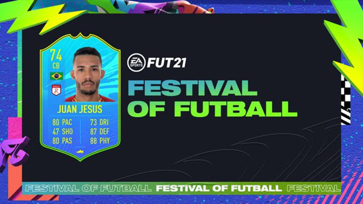 FIFA 21 FoF: Juan Jesus als Nation Participant in FUT