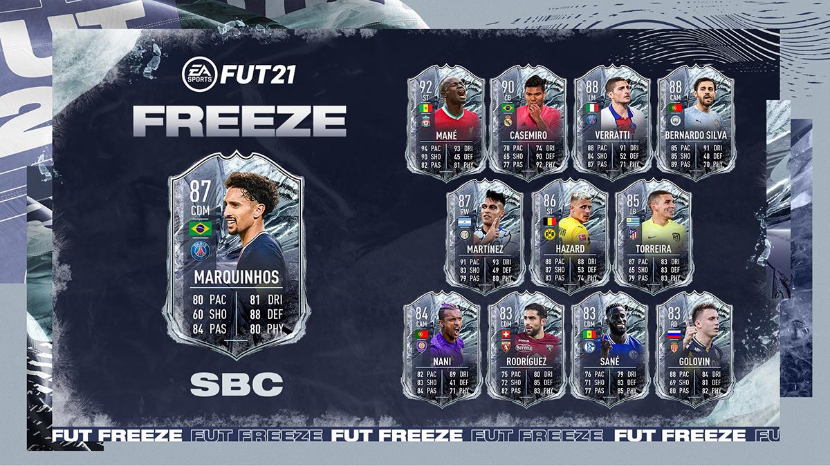 FIFA 21 Freeze: Marquinhos via SBC in FUT