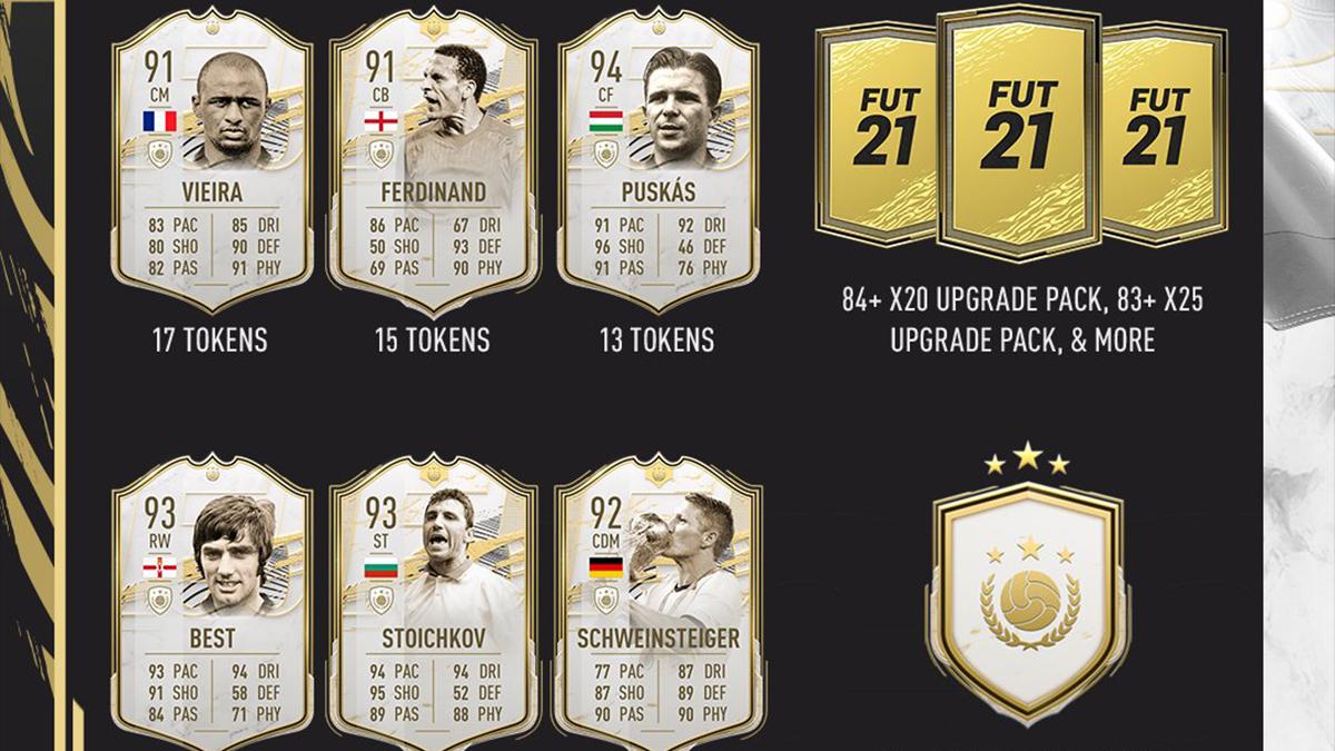 FIFA 21: Icon Swaps 3 mit neun neuen Tokens