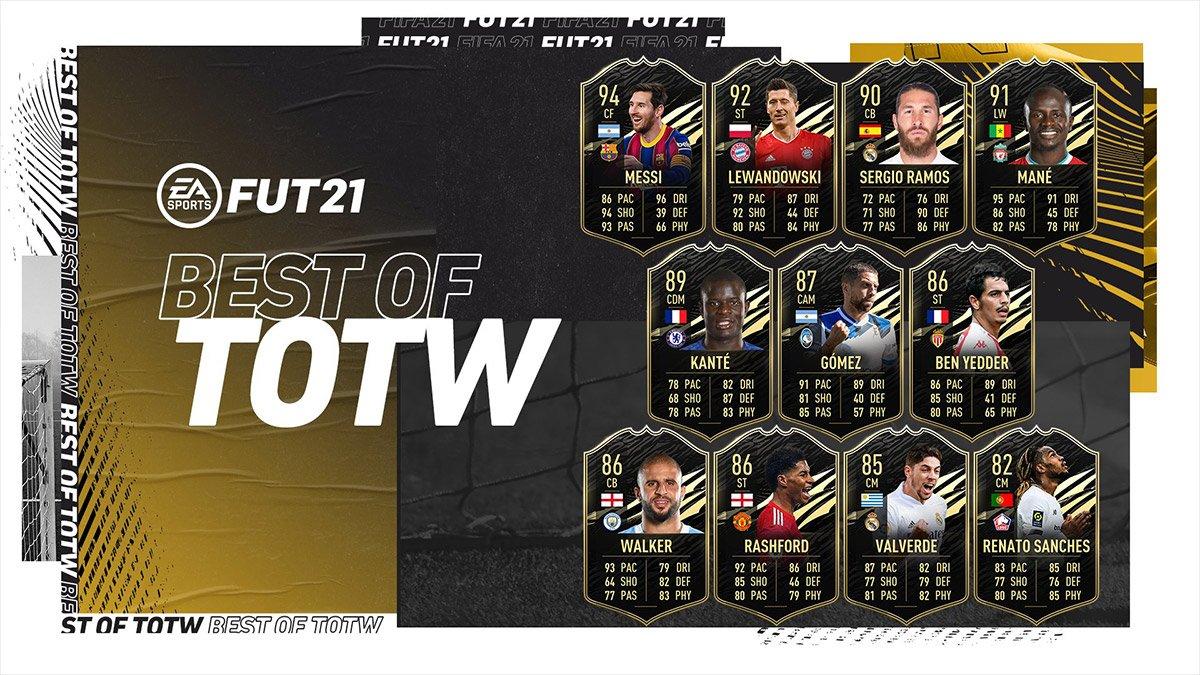 FIFA 21: Pre-Black Friday bringt Best of TOTW